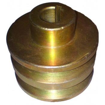 Шкив на двигатель (Robin Subaru EX17-21, Lianlong-LL168F-1 6,5 л.с) для мотоблоков МБ-1, МБ-2, Салют, Крот
