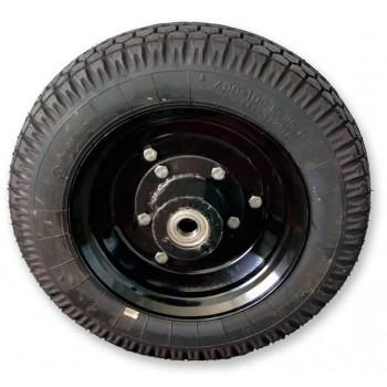 Колесо резиновое 4,0х10 в сборе (шоссейное) для тележек серии ТПМ-350