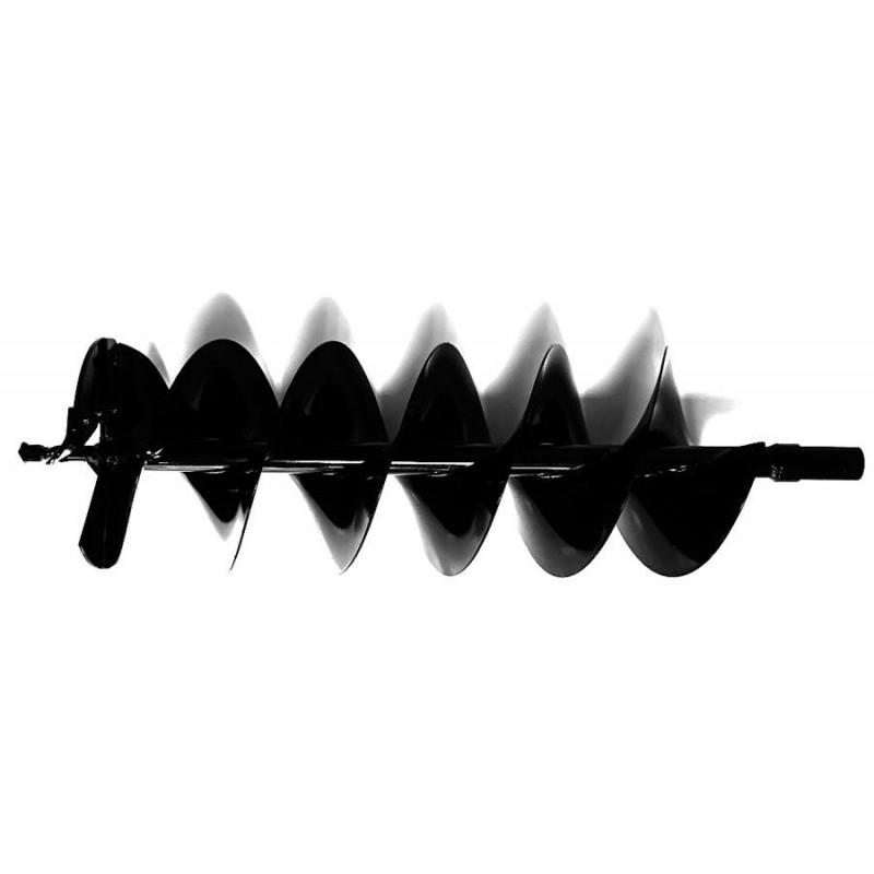 Шнек для мотобура 200 мм для земли