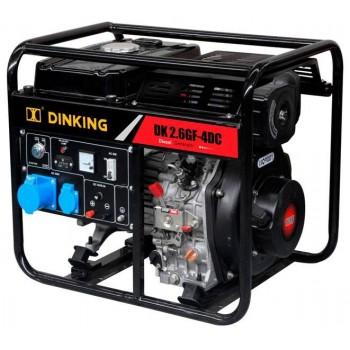 Дизельный генератор Dinking DK2,6GF-3DC