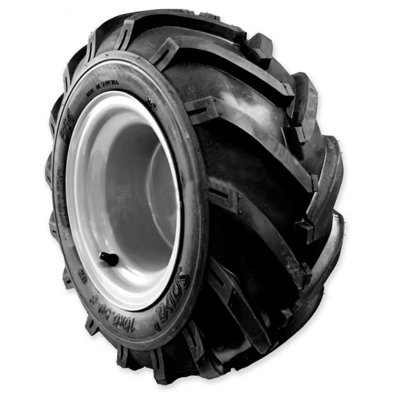 Колесо резиновое 5.0 x 6 в сборе для мотоблоков МКМ-3 Lander, Салют