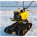 Снегоходная приставка САМ к мотоблоку