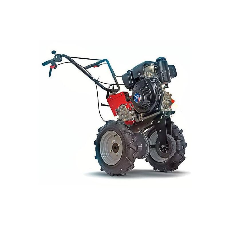 Мотоблок Quatro Junior 80 Diesel TWK+