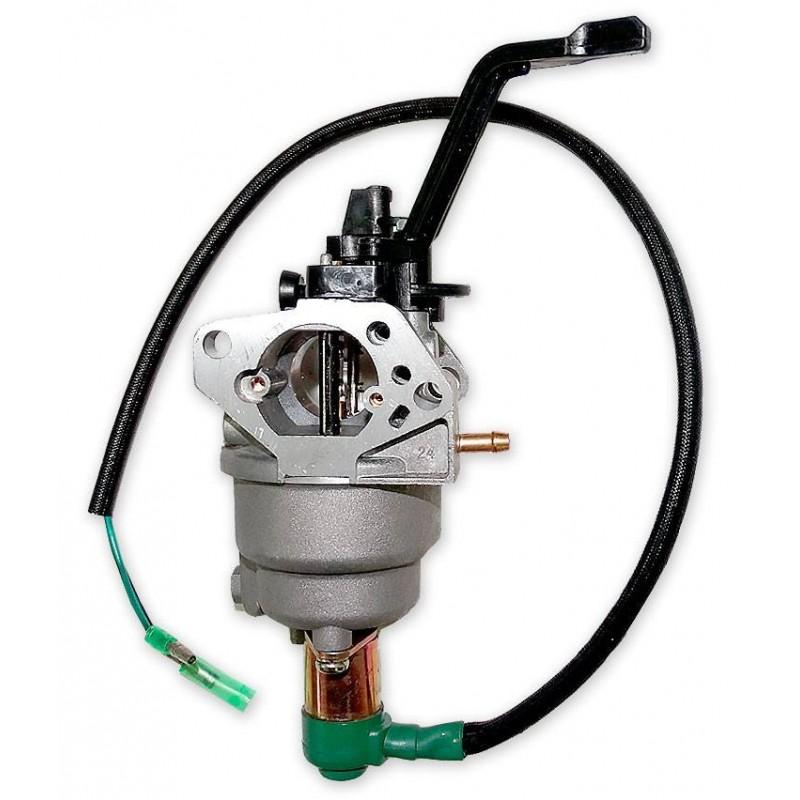Карбюратор двигателя бензогенератора Green-Field 8000PRO