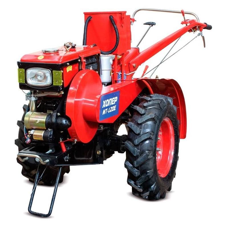 Мотоблок дизельный Хопер МТ-120Е