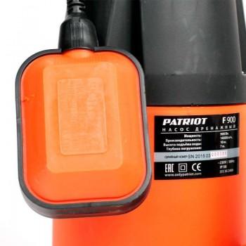 Погружной дренажный насос PATRIOT F 900