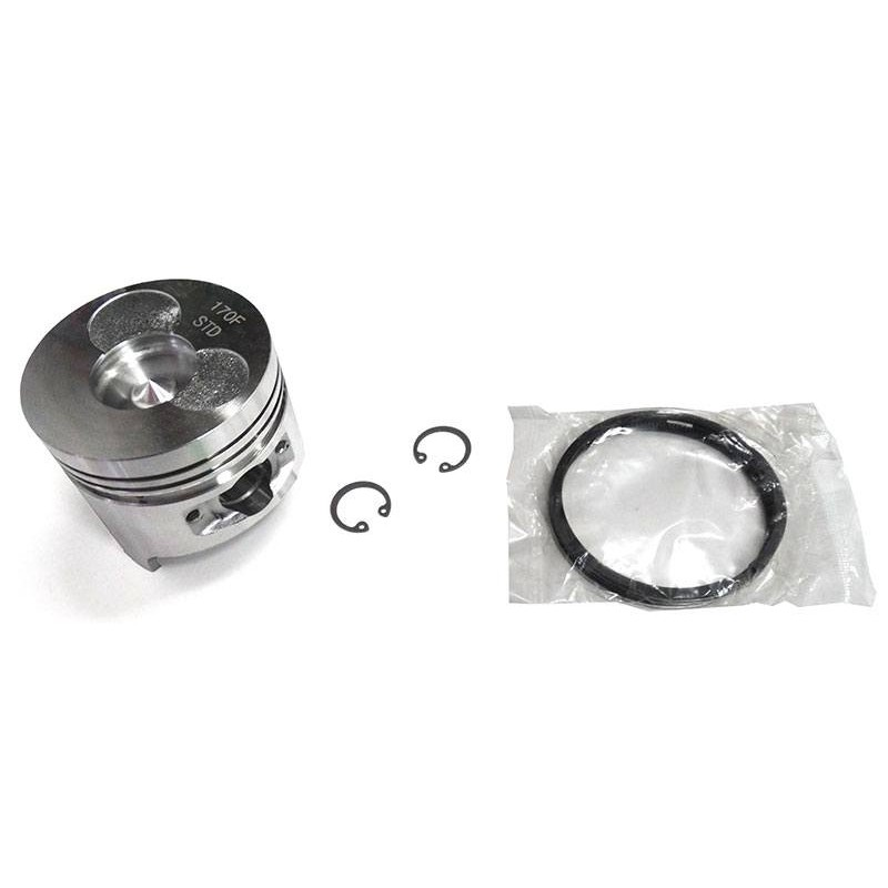 Поршень, кольца, скобы для дизельных двигателей 170F в наборе