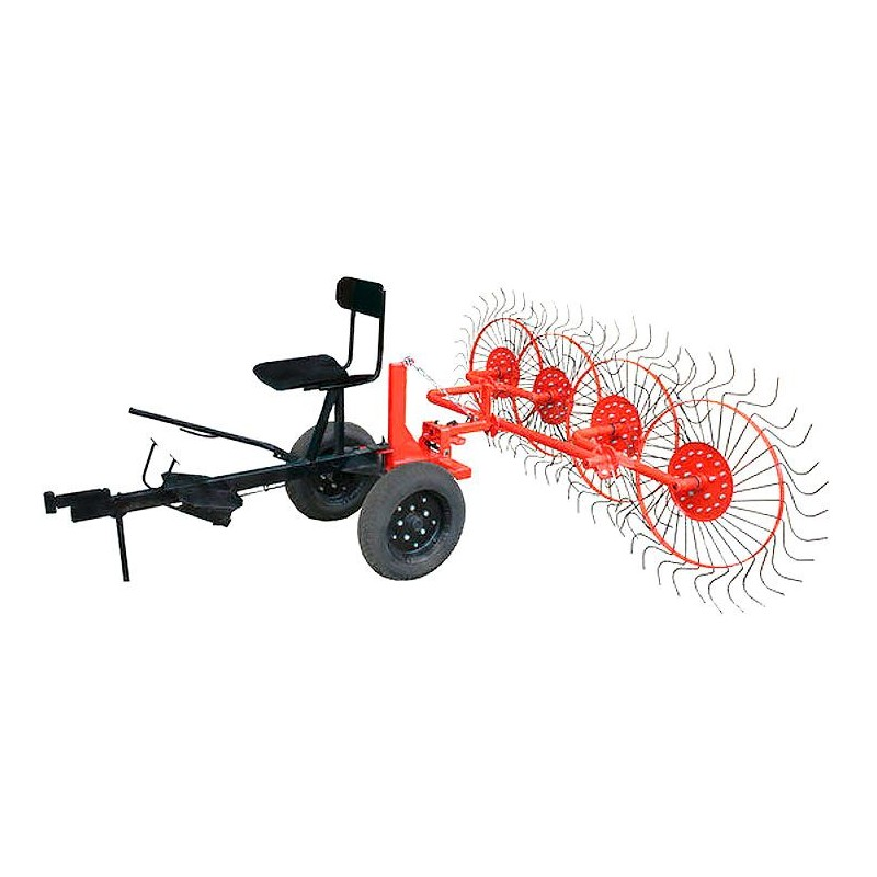 Ворошилка колесно-пальцевая ВМ-4 (Агро) для мотоблоков от 8 л.с.
