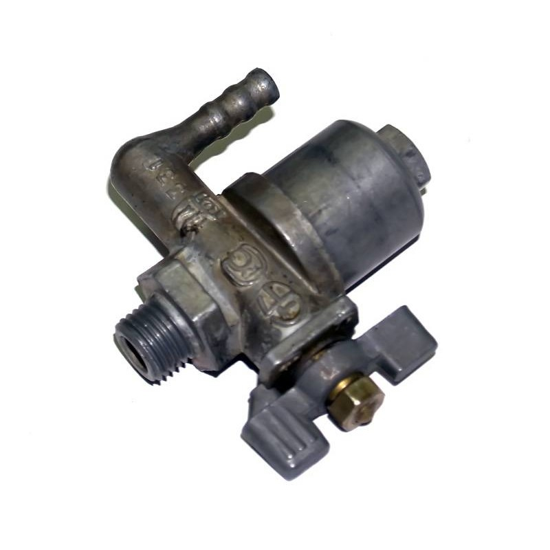 Топливный кран для двигателя мотоблока МБ м14*1,5 вертикальный