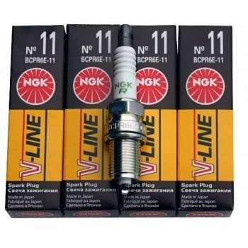 Свеча зажигания NGK V-LINE № 11 5282 BCPR6E-11