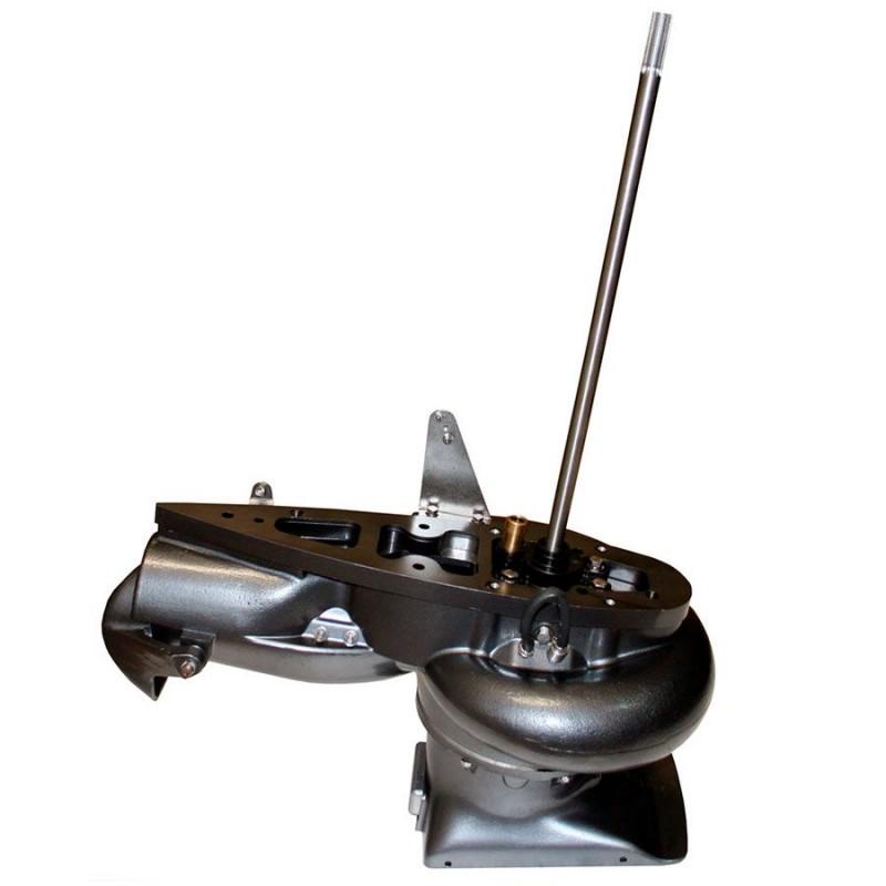 Водомётная насадка на подвесной лодочный мотор мощностью 40 л.с.