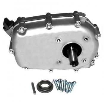 Редуктор для двигателей 173F,177F,182F, 188F, 190F, 192F в сборе с автоматическим сцеплением 1:2 (ступенька ∅30 мм, вал 22 мм)