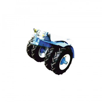 Груз-утяжелитель (колёса и штырь) для МБ Нева