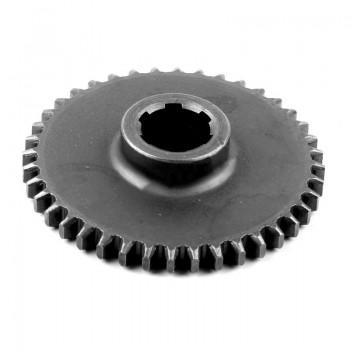 Шестерня первичного вала (2 передачи) Z-44 редуктора ременного двигателей 168F, 170F