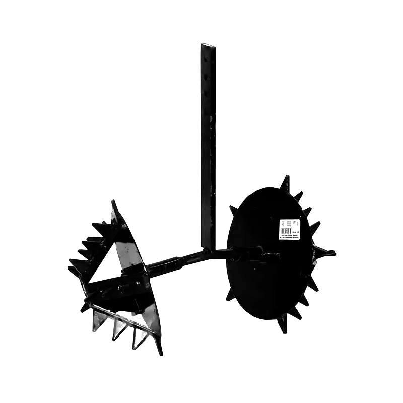 Полольник-рыхлитель Ёж (без сцепки) однорядный для мотоблоков Целина, Нева, Каскад