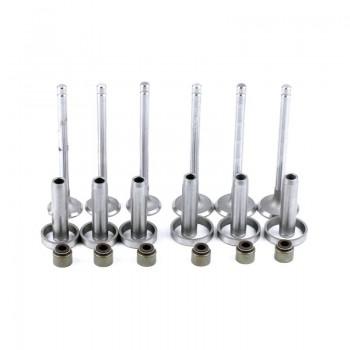 Комплект клапанов (впуск-выпуск) КМ385ВТ (DongFeng 240/244, Foton 240/244, Jinma 240/244)