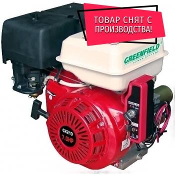 Двигатель GreenField PRO-6.5HP (GX200)