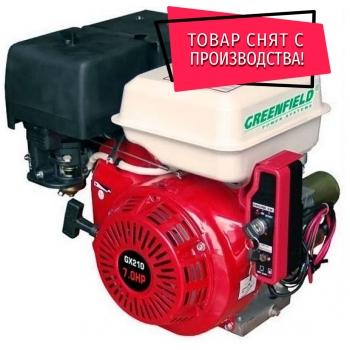Двигатель с редуктором GreenField GF 170 F-R (GX210)