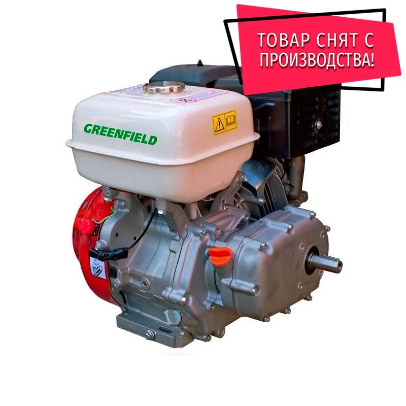 Двигатель с редуктором GreenField GF 188 F-R (GX390)