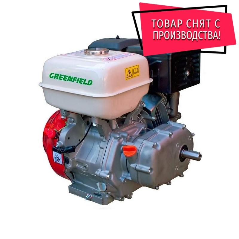 Двигатель с редуктором GreenField GF 190 F-R (GX410)