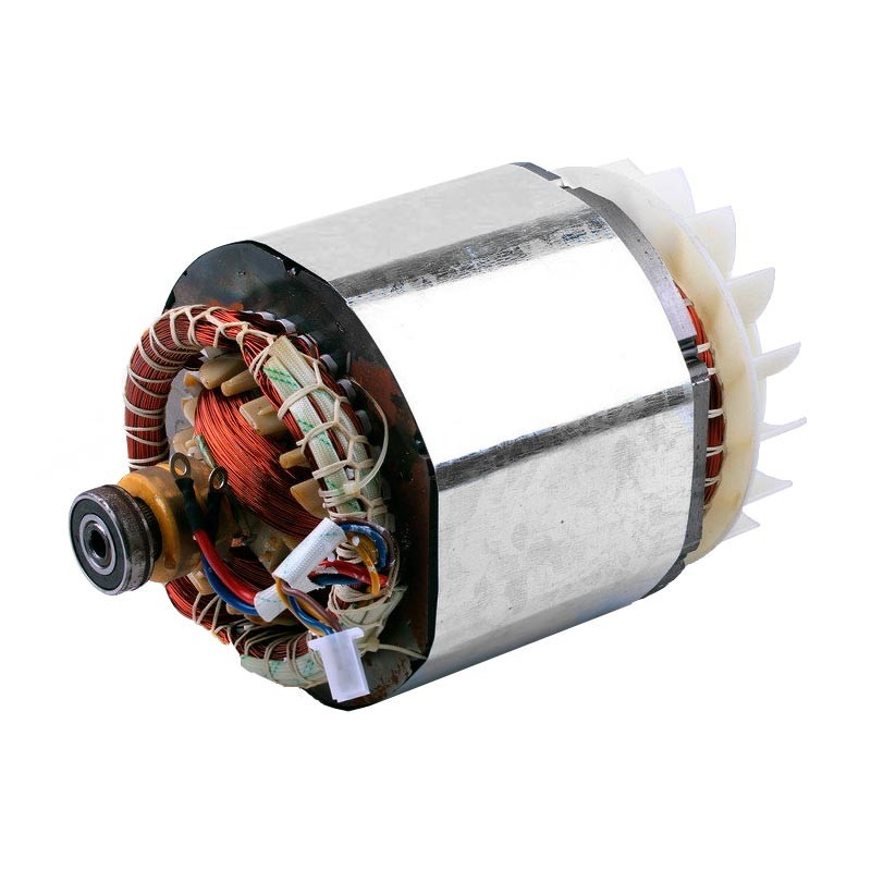 Статор в сборе с ротором 2.8KW (медь) - GN 2.8 KW