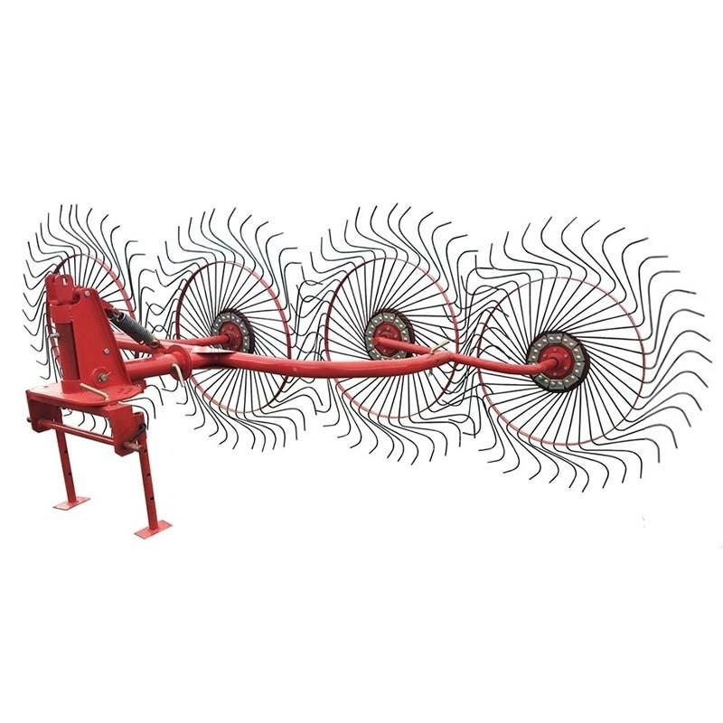 Грабли-ворошилки 4-х дисковые (4 колеса)