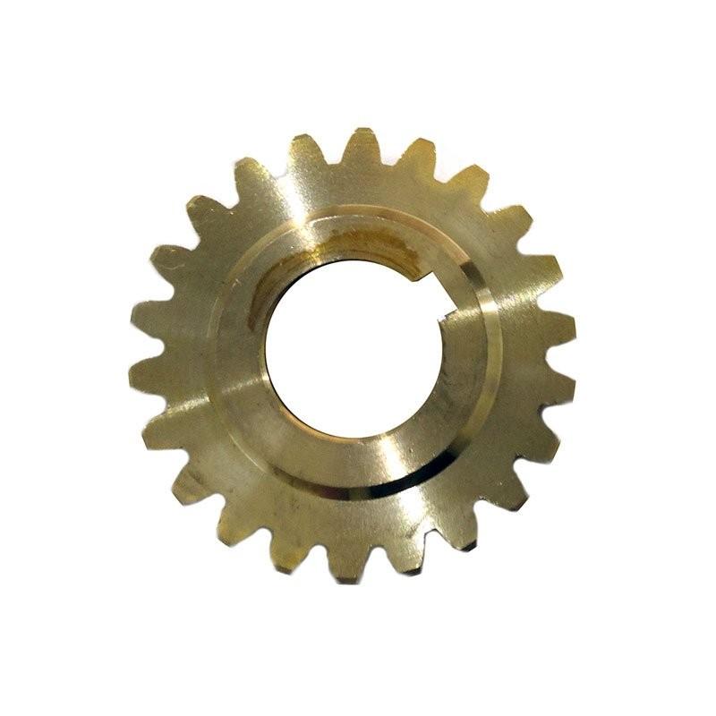 Шестерня редуктора ∅19 мм, 22 зуба