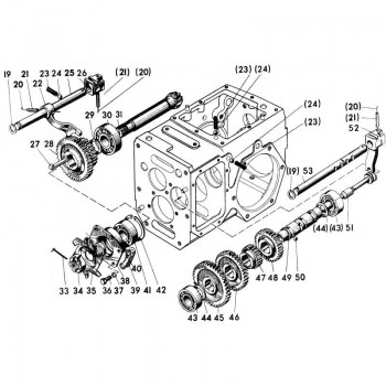 Комплект для ремонта коробки передач мотоблоков МТЗ-05 и Беларус-09Н