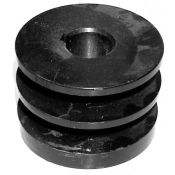 Шкив двигателя (⌀19-20 мм) для МК Крот