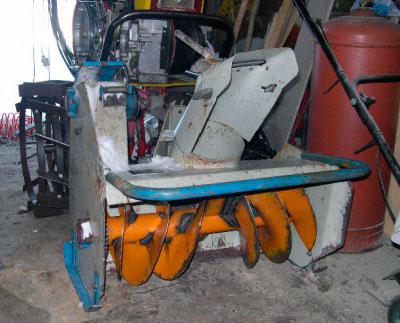 Снегоуборщик к мотоблоку салют чертежи 11